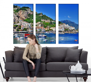 Multicanvas peisaj mediteranean mtpmp1014