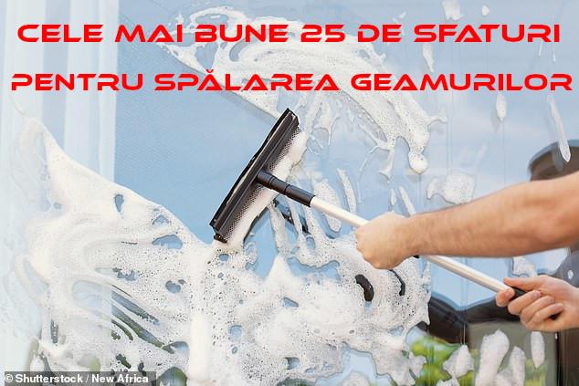 Cele mai bune 25 de sfaturi pentru spălarea geamurilor